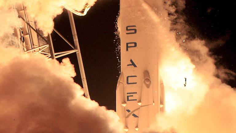 An image that illustrates this article Elon Musk's SpaceX to launch next-generation UAE satellite in 2023