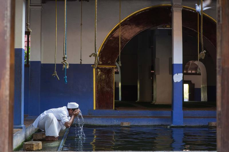 Ponnani Juma Masjid, locally known as the Mecca of Kerala Muslims, was once the center of Islamic education in India's Kerala. The structure of this mosque depicts traditional architectural style of Kerala. Photo by Sebastian Castelier