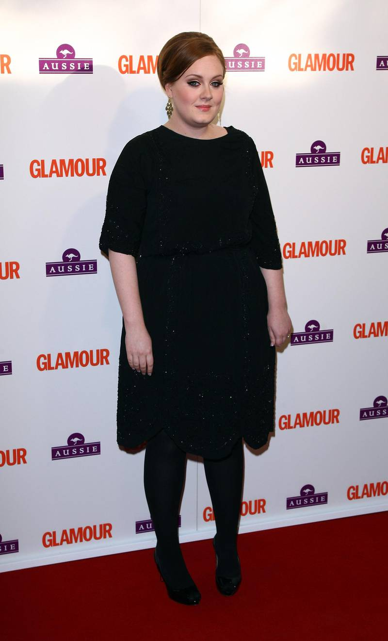 LONDON, ENGLAND - JUNE 02:  Adele arrives at the Glamour Women of the Year Awards 2009 at Berkeley Square Gardens on June 2, 2009 in London, England.  (Photo by Gareth Cattermole/Getty Images)