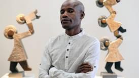 Rolling stones: how Zimbabwean artist Dominic Benhura creates his work