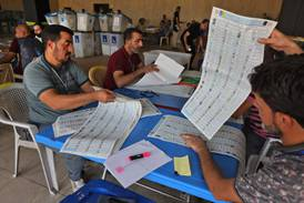 Iraq's electoral commission begins manual recount to finalise ballot results