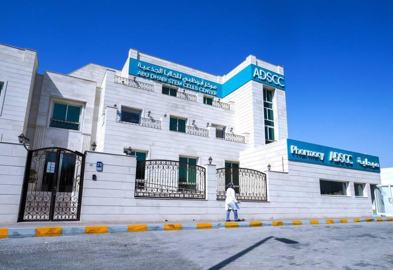 Abu Dhabi, United Arab Emirates, June 14, 2020.    Abu Dhabi Stem Cell Centre.Victor Besa  / The NationalSection:  NAReporter:  Daniel Bardsley