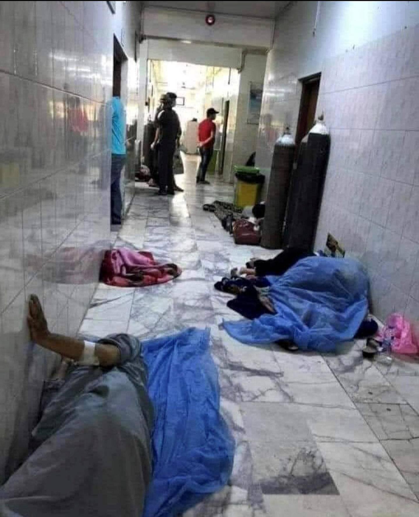 hospital in Mosul