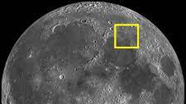 An image that illustrates this article Exclusive: Lunar landing site of UAE's Rashid rover revealed