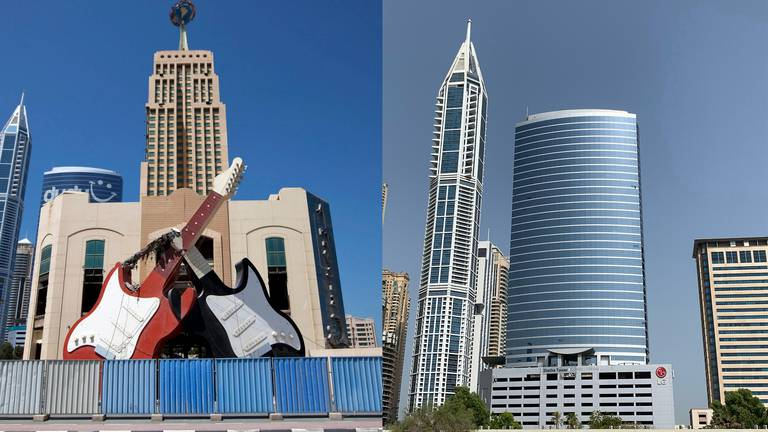 An image that illustrates this article UAE then and now: Dubai's original Hard Rock Cafe, the legend lives on