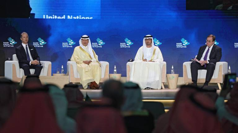 An image that illustrates this article Climate change must not be an economic burden for developing nations, UAE minister says