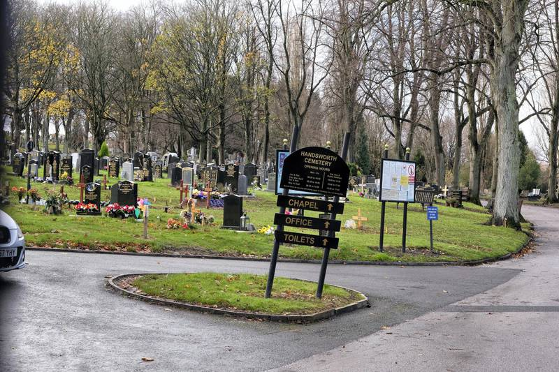 Handsworth Cemetery in Birmingham, UK. Photos by JOHN ROBERTSON/The National, 19th November, 2020.MORE PICS TO FOLLOW AFTER 2PM GATES OPENING!