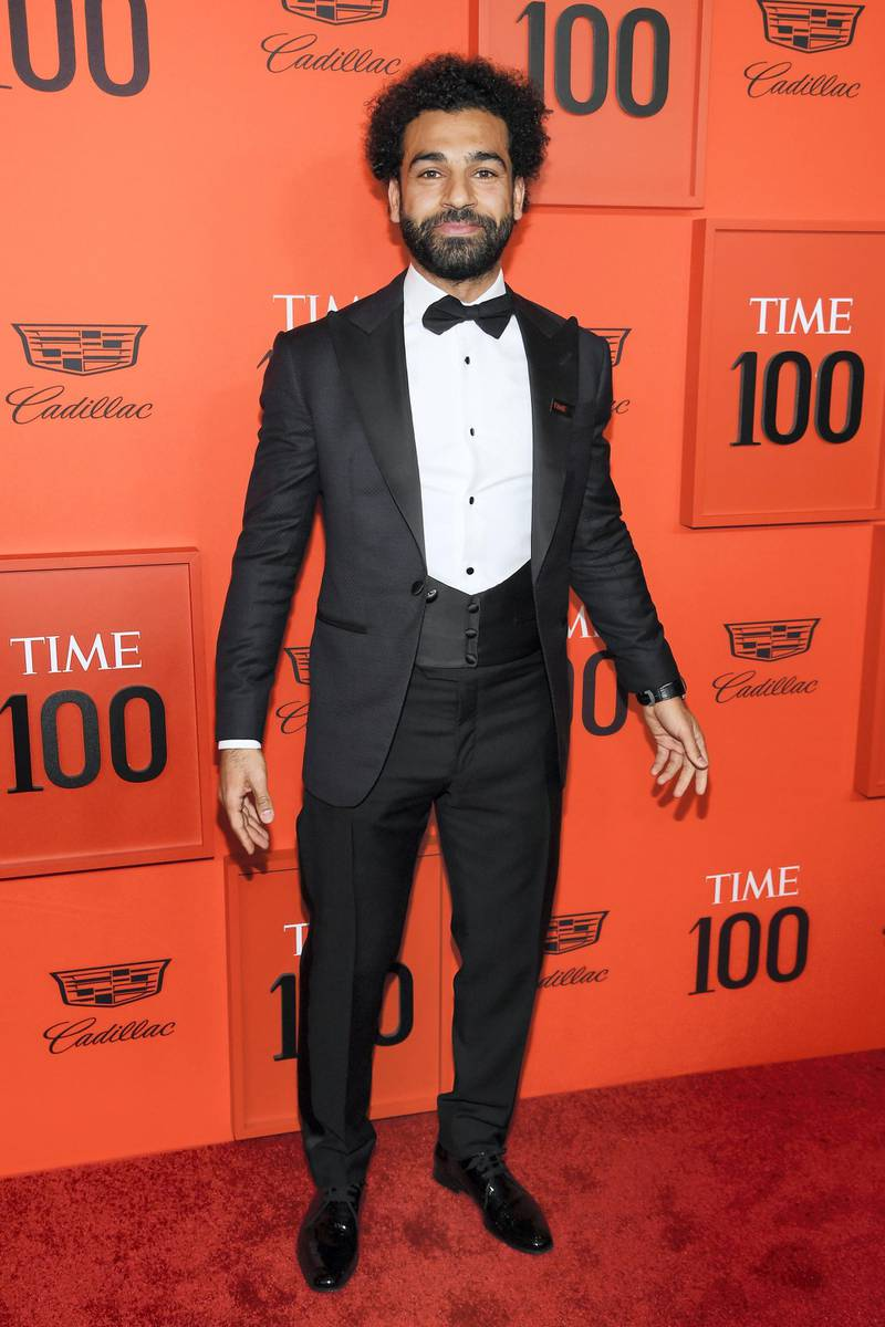 NEW YORK, NEW YORK - APRIL 23: Mohamed Salah attends the TIME 100 Gala Red Carpet at Jazz at Lincoln Center on April 23, 2019 in New York City. (Photo by Dimitrios Kambouris/Getty Images for TIME)