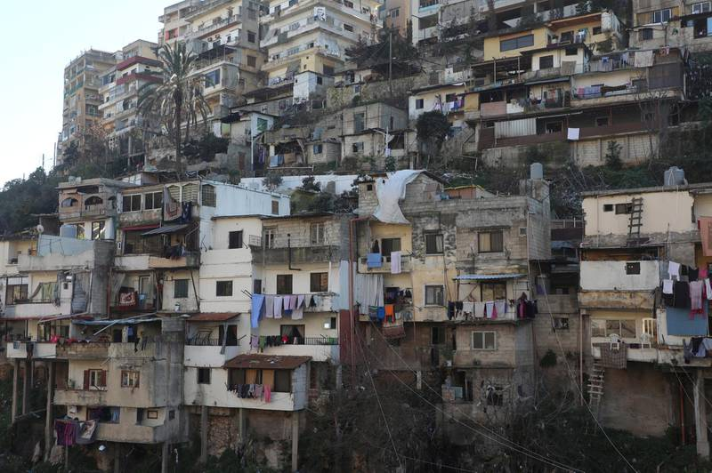 A general view shows buildings in Tripoli, Lebanon February 1, 2021. REUTERS/Mohamed Azakir