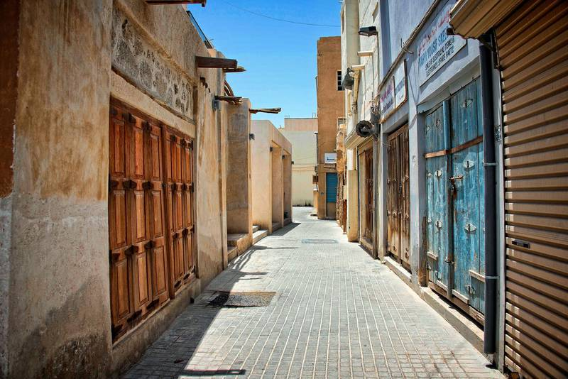 Traditional buildings of Muharraq, Bahrain. Getty Images
