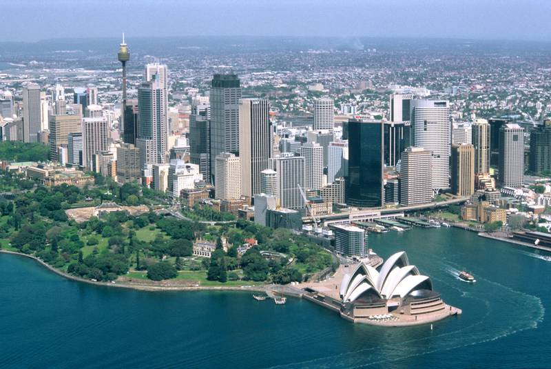 View From a Four Seater - Sydney Skyline - Australia <br>Model Release: No <br>Property Release: No<br>[Photo via Newscom] (Newscom TagID: scphotos017802)