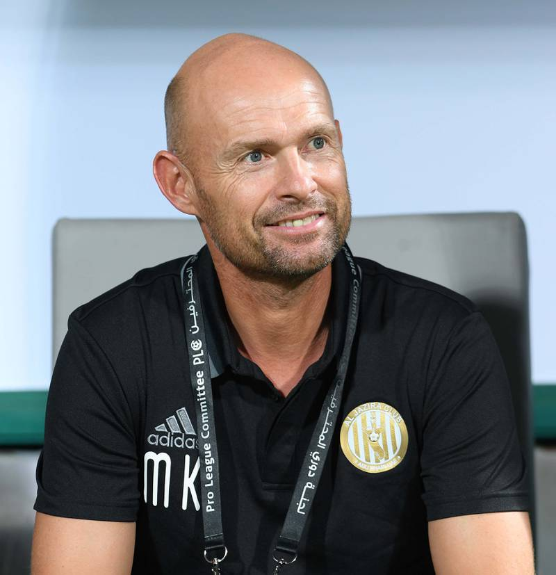 Newly re-appointed Al Jazira manager Marcel Keizer. Courtesy Seven Media