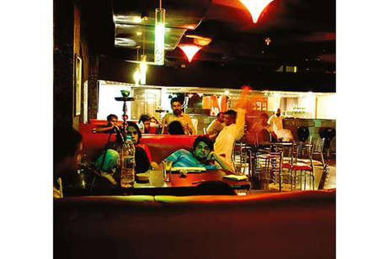 Mirpur, Pakistan  Mirpuri teens hang out at the Overload Club in the Regency Hotel in Mirpur.