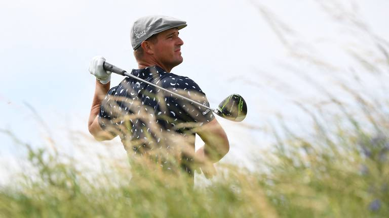 An image that illustrates this article The Open: DeChambeau apologises for 'unprofessional' criticism of clubs