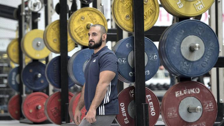 An image that illustrates this article A man possessed: the guiding light of Paralympian Ali Jawad