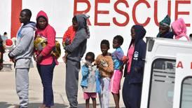 Italian coast guard rescues 149 migrants from capsized boat