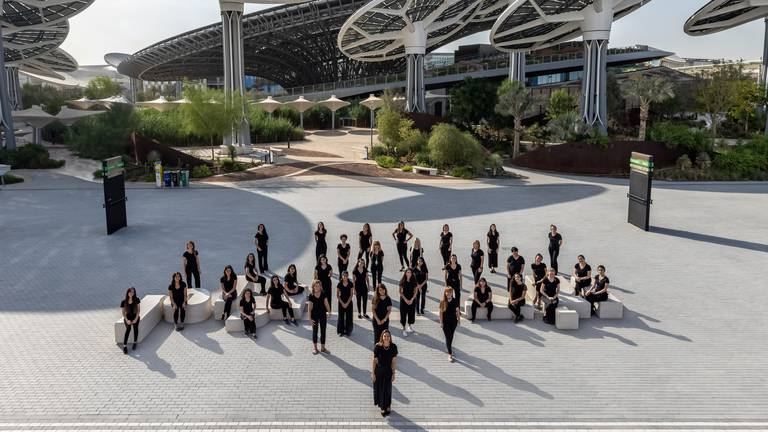 An image that illustrates this article Listen to AR Rahman's all-female Firdaus Orchestra ahead of Expo 2020 Dubai