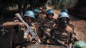 Moroccan peacekeepers patrol in the Central African Republic - in pictures