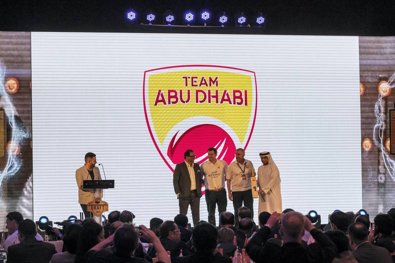 ABU DHABI, UNITED ARAB EMIRATES. 16 OCTOBER 2019. T10 Draft of the upcoming season. (Photo: Antonie Robertson/The National) Journalist: Ajith Vijaykumar. Section: Sport.