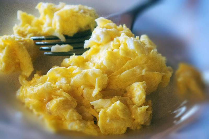 Scrambled eggs. Getty Images