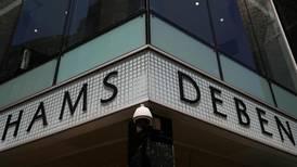 UK department store Debenhams hires company to advise on potential liquidation