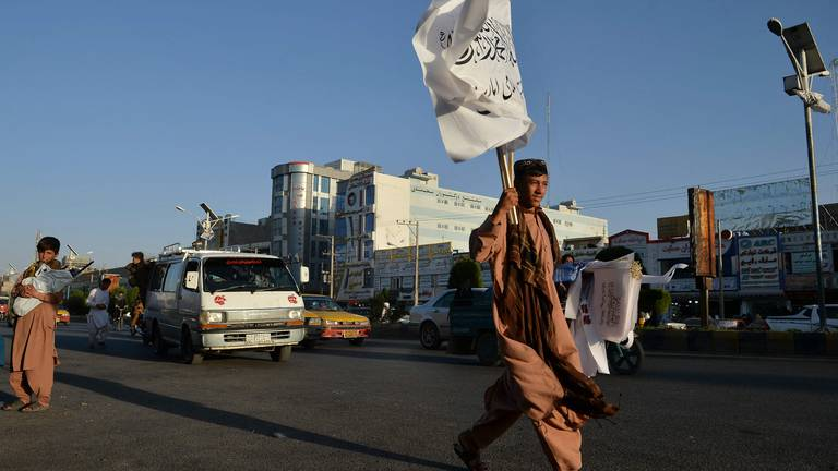 An image that illustrates this article Taliban hang corpse in main square of Herat in Afghanistan