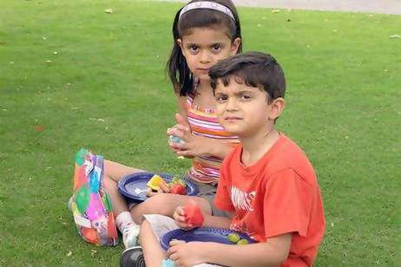 Food Poisoning children. Nathan DÕSouza, 5, died on Saturday, June 13, after suffering from vomiting and other symptoms common to food poisoning. His eight-year-old sister Chelsea died the next day. Supplied by the family *** Local Caption ***  FoodPoisoningKids.jpg