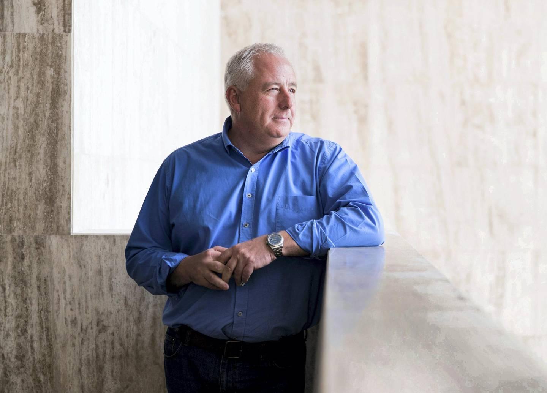 DUBAI, UNITED ARAB EMIRATES - Feb 21, 2018.Stuart Fleming, the Founding Partner and CEO of Enviroserve.(Photo: Reem Mohammed/ The National)Reporter: Section: NA