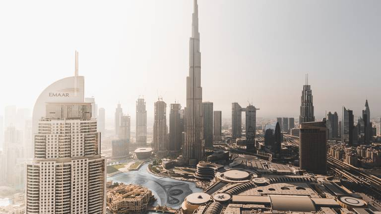 An image that illustrates this article Has Expo 2020 made Burj Khalifa the new Eiffel Tower?