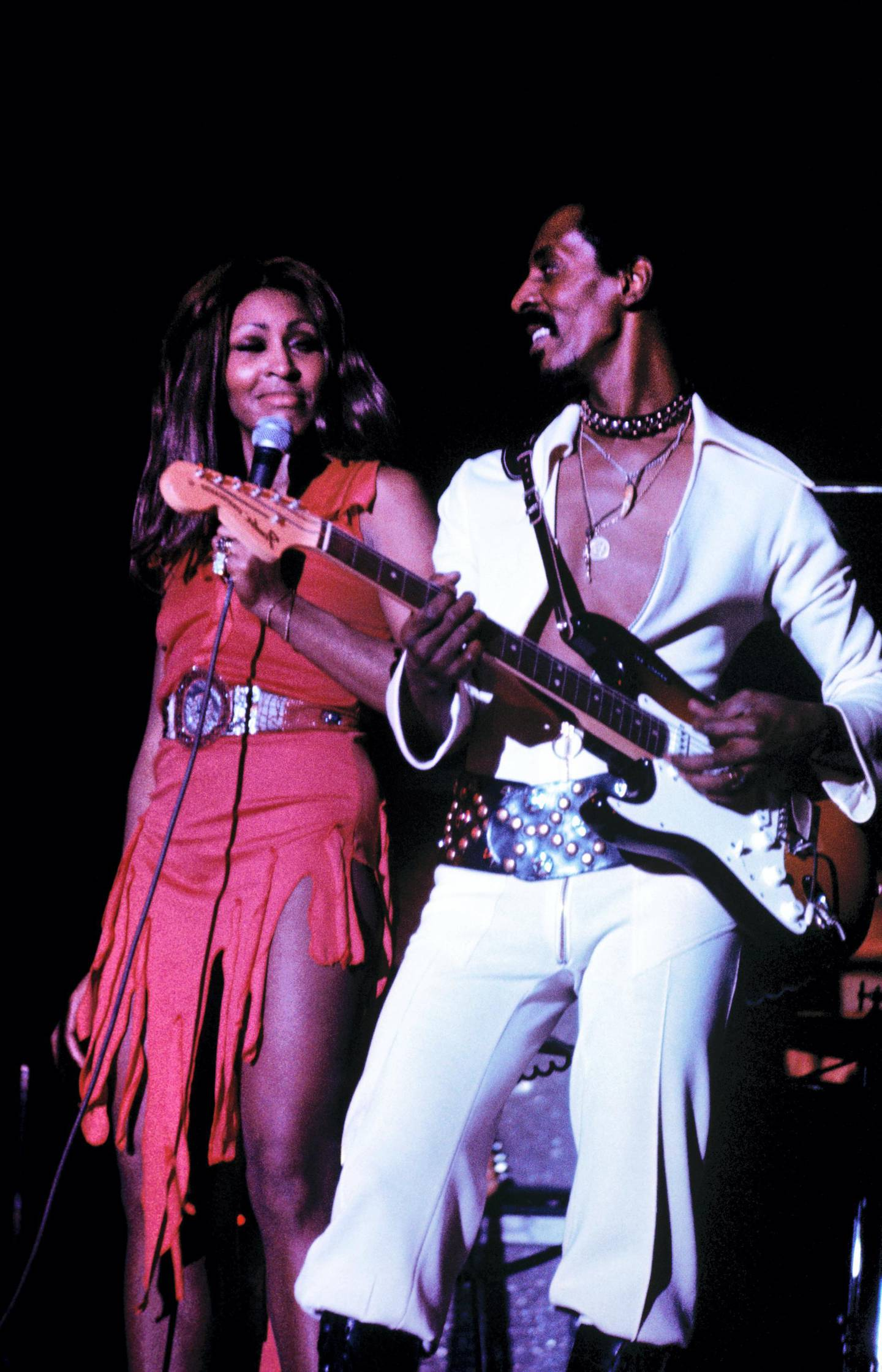 Mandatory Credit: Photo by Kent/Mediapunch/REX/Shutterstock (8551042a) Photograph of Tina and Ike Turner in 1974 Ike Turner-1974