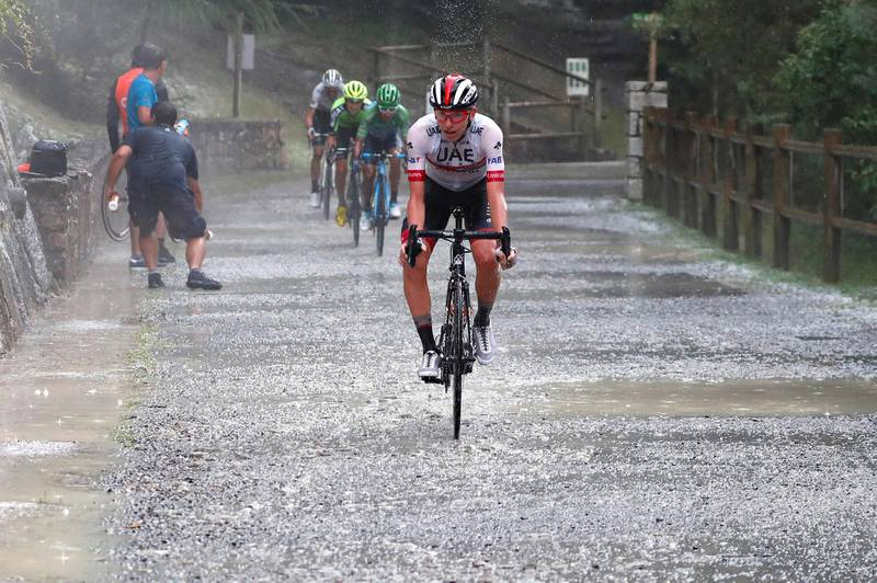 Vuelta Espana 2019 - 74th Edition - 9th stage Andorra la Vella - Cortals dÕEncamp 94,4 km - 01/09/2019 - Tadej Pogacar (SLO - UAE - Team Emirates) - photo Luis Angel Gomez/BettiniPhoto©2019