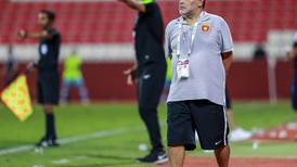 Diego Maradona reported to be fired as Fujairah coach after missing out on automatic promotion to AGL