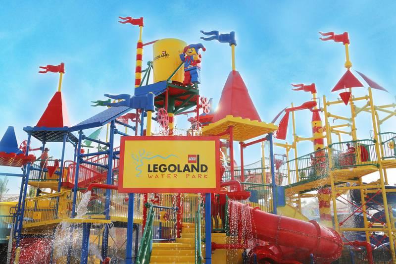 LEGOLAND Water Park at LEGOLAND Dubai. Courtesy of Legoland water park *** Local Caption ***  AL00-FAMILY-Legoland06.jpg