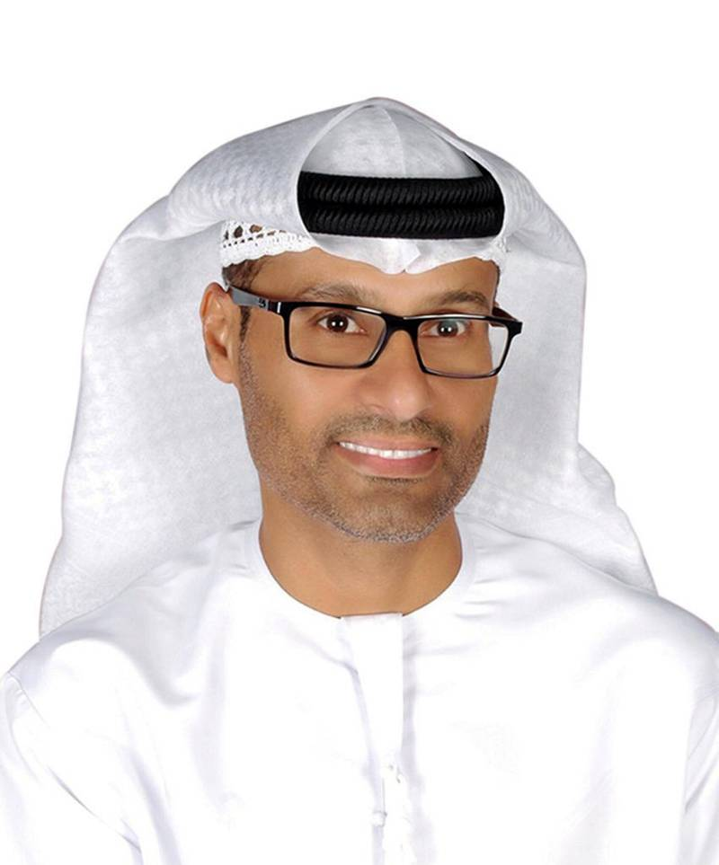 Mohammed Hamad Al-Kuwaiti as head of cyber security in the government of the UAE. courtesy: Mohammed bin Rashid twitter account