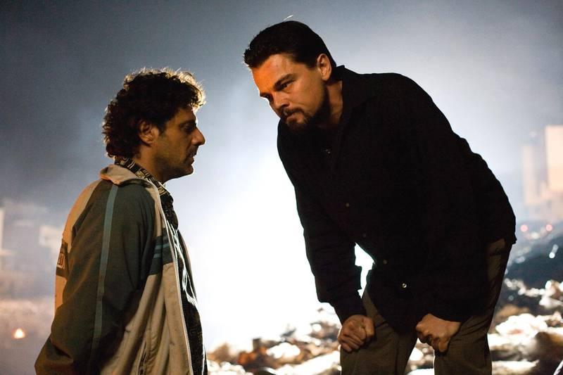 (BODY OF LIES, from left: Vince Colosimo, Leonardo DiCaprio, 2008. ©Warner Bros./courtesy Everett Collection