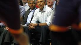 Barack Obama takes in Bulls, LeBron in NBA season opener – in pictures