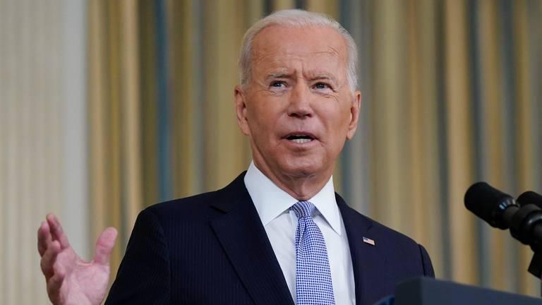 An image that illustrates this article Joe Biden calls US treatment of asylum-seeking Haitians an 'embarrassment'