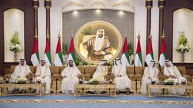 UAE Rulers attend Eid Al Fitr reception - in pictures