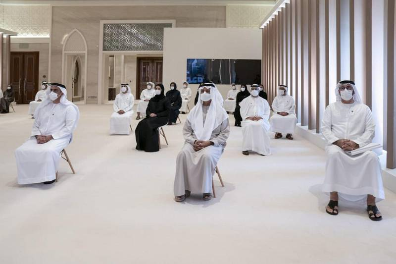 Launch of the industrial indentiy of the UAE. Dubai Media Office