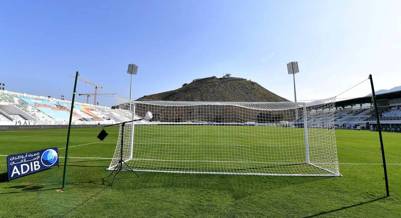 Khorfakkan Stadium in UAE. Courtesy AGL