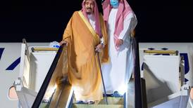 Saudi King Salman arrives in Neom to recuperate after surgery