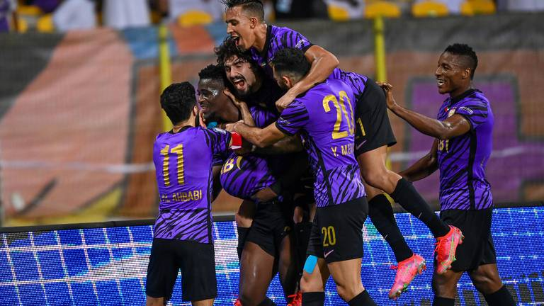 An image that illustrates this article Al Ain maintain unbeaten start to stay top of Adnoc Pro League