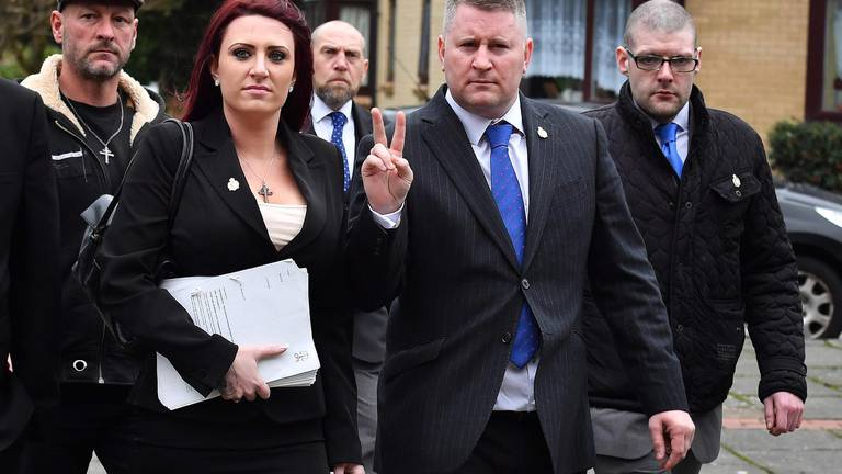 An image that illustrates this article Far-right leaders to pay damages over UK Halal Food Authority terror funding claims