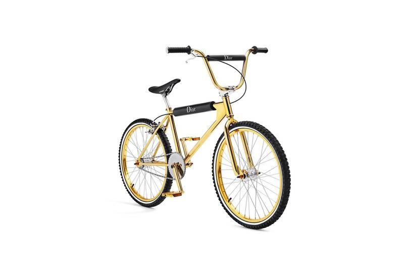 Christian Dior bicycle. Courtesy Christian Dior