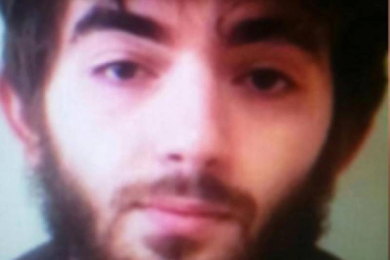 This undated photo made available to the Associated Press on the condition that its source not be revealed, shows Khasan Azimov. The man behind a deadly knife attack in central Paris was born in Chechnya and had been on police radar for radicalism, and his parents have been detained for questioning, French authorities said Sunday, May 13, 2018. (AP Photo)