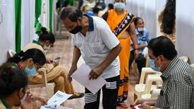 Long queues as India expands Covid-19 vaccination drive