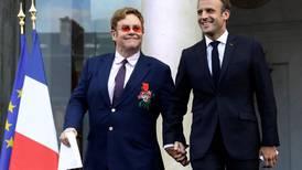 Elton John awarded France's highest honour