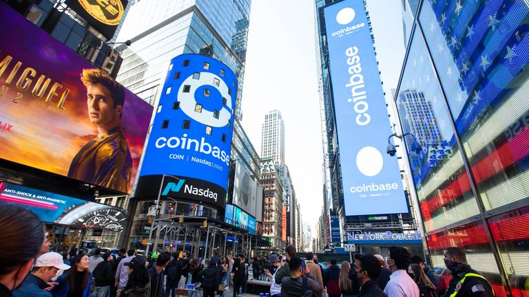 An image that illustrates this article Coinbase likely to face SEC action over cryptocurrency product