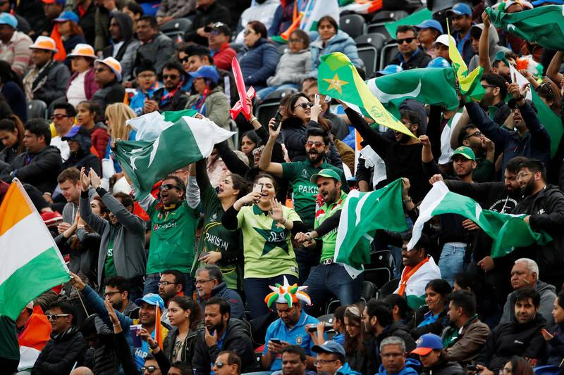 Cricket - ICC Cricket World Cup - India v Pakistan - Emirates Old Trafford, Manchester, Britain - June 16, 2019   General view of the fans during the match    Action Images via Reuters/Andrew Boyers