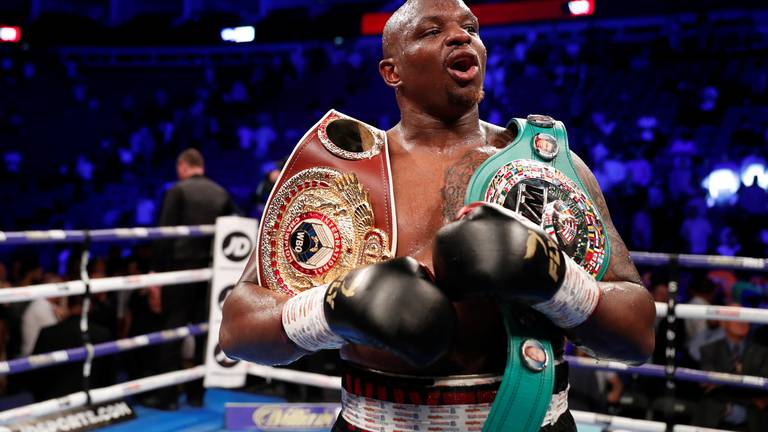 An image that illustrates this article Whyte's bad luck continues after injury causes setback to world title hopes